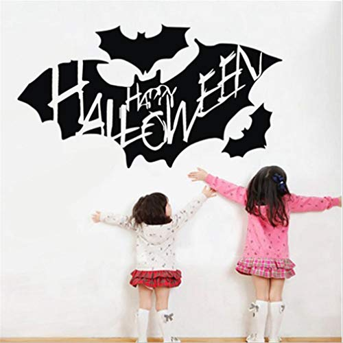 Fheaven (TM) Halloween Decorations Window Wall Decor - Vampire Zombie Witch Party Handprint Decals Decorations Background Wall Sticker (G)