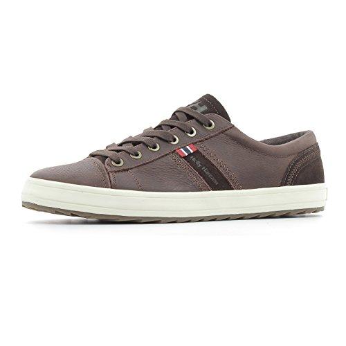 Helly Hansen Rossnes, Zapatillas de Vela para Hombre Marrón (Dark Brown)