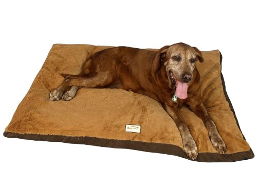 - Armarkat Brown Pet Bed, 47-Inch by 36-Inch by 5-Inch