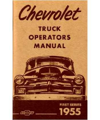 1955 1st series chevy truck - 1