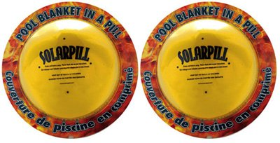 2 PACK - Solar Pill Liquid Pool Solar Cover