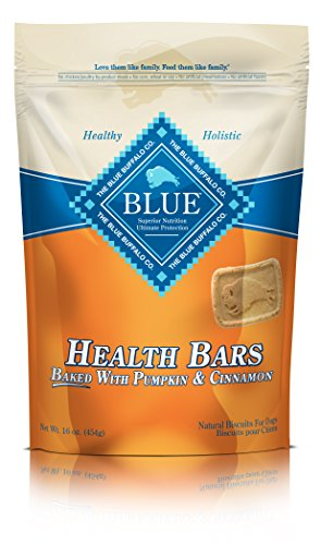 Blue Health Bars Adult Pumpkin & Cinnamon Biscuits Dog Treats 16-Oz