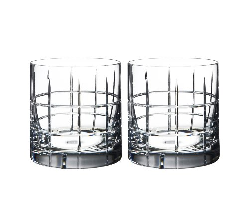 Cut Old Fashioned (Orrefors Street Double Old Fashioned Glass Pair)
