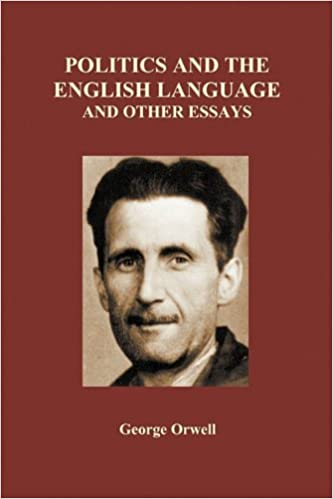 amazoncom politics and the english language and other essays  politics and the english language and other essays paperback