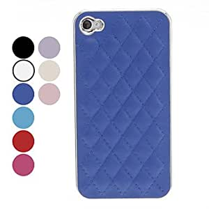 GONGXI- Lattice Design Case Duro para iPhone 4/4S (colores surtidos) , Beige