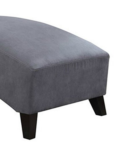 Amazoncom Modern Chaise Lounge Chair This Polyester Microfiber
