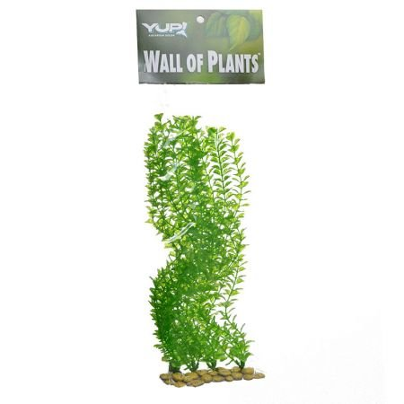 SPORN Aquarium Decoration, Wall of Plants Anacharis Green