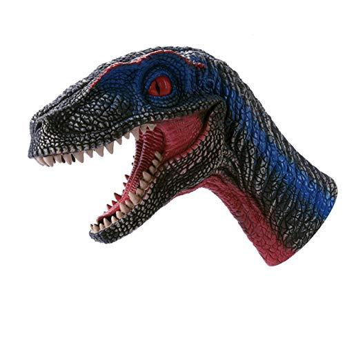 フェリモア 恐竜 パペット ヴェロキラプトル おもちゃ ダイナソー 人形 リアル フィギュア (ラプトル)