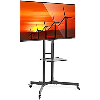 Amazon Com Portable Flat Screen Tv Stand For 32 To 70
