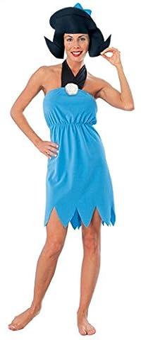 Rubies Womens Flintstone Betty Anim Theme Party Fancy Halloween Cartoon Costume, L (14-16) - Flintstone Mask