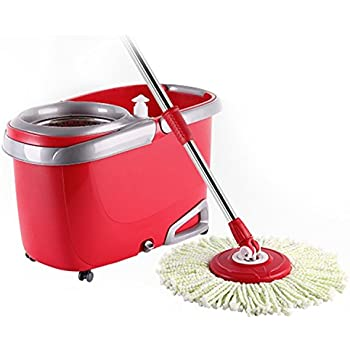 Amazon Com Arevo Whirlwind Wet Spin Mop And Rolling