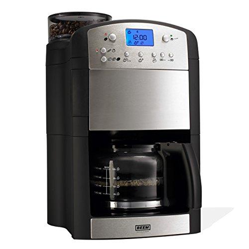 BEEM Germany Fresh-Aroma-Perfect V2, Kaffeemaschine mit Mahlwerk, Edelstahl