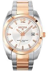 Hector Men's 667068 Two-Tone Bracelet Date Watch