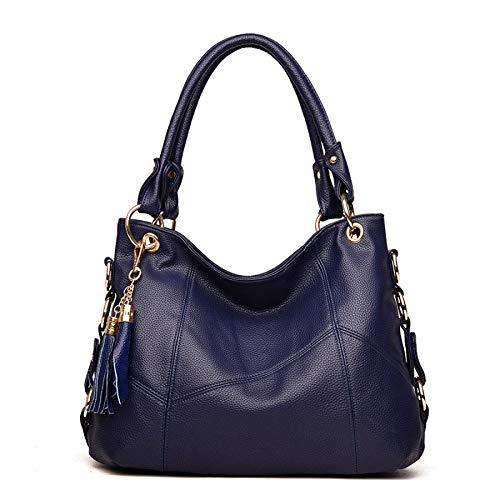 Femmes Sac Bandoulière Mode Couture Sauvage à Main Big Automne Sac Bag YXLONG Gland Nouvelle Messenger à blue des 0BqRanwP