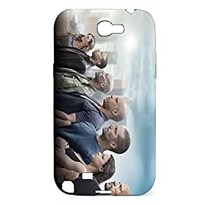 Attractive Fast & Furious Phone Case Back Protector Phone Case for Samsung Galaxy Note 2 N7100