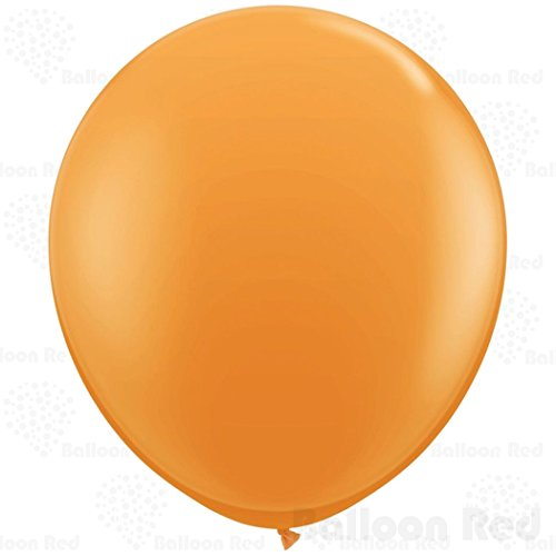 [36 Inch Giant Jumbo Latex Balloons (Premium Helium Quality), Pack of 24, Orange] (Easy Homemade Adults Halloween Costumes)