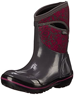 Amazon Com Bogs Women S Plimsoll Quilted Floral Mid