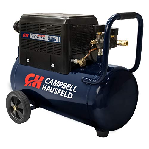 Cambell Hausfeld 8 Gallon Portable Quiet Air Compressor w/Shroud (AC080510)