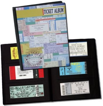 Concert Ticket Album