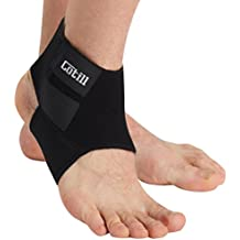Cotill Ankle Support for Men and Women - Neoprene Breathable Adjustable Ankle Brace Sprain for Running, Basketball