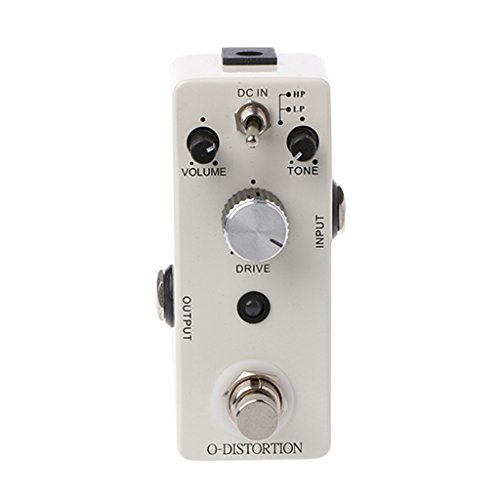 ULKEME DC 9V TC-16 Overdrive Guitar Effect Pedal True Bypass 2 Effect Modes Accessory by ULKEME