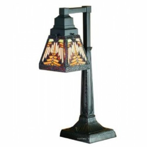 20 Inch H Navajo Mission 1 Lt Desk Lamp Table Lamps ()