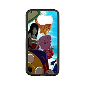 Printed Cover Protector Samsung Galaxy S6 Cell Phone Case BlackAdventure TimeImskz Unique Design Cases