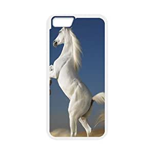 ZLGU(RM) Iphone 5C Case with White Horse DIY Case, Customized phone case