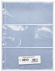 Pardo 101300 - Pack de 10 fundas para colección variada, 3 alojamientos