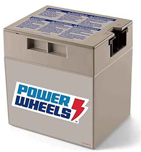 00801-1869 Battery 12 Volt Gray Genuine Power Wheels Fisher Price Grey 12V - NEW