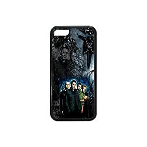 5c Case, iPhone 5c Case, Apple iPhone 5c Case,Plastic and TPU Protective Skin Case with Breaking Benjamin(Black and White)