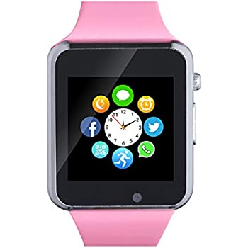 Amazon.com: Amazqi Smart Watch, Smartwatch Phone with Camera ...