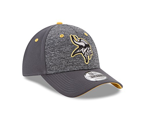 Minnesota Vikings Cap (NFL Minnesota Vikings Adult Men The League Shadow 2 9FORTY Adjustable Cap, One Size, Graphite)