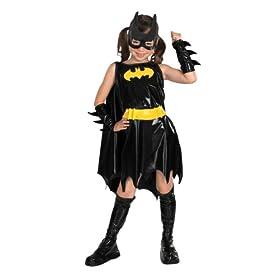 DC Super Heroes Child's Batgirl Costume, Medium