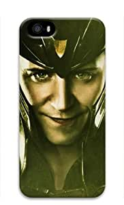 Loki:Thor the Dark World-003 Iphone 5/5S Hard Protective 3D Case by eeMuse