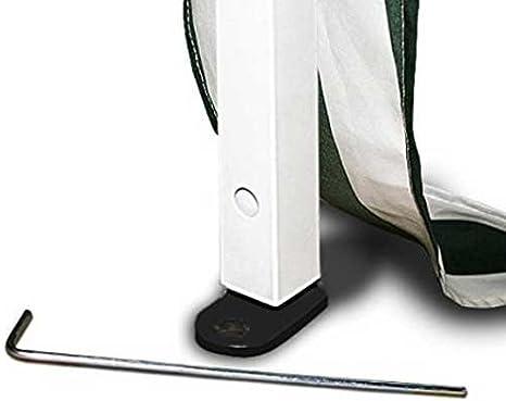 Bakaji Gazebo 3 x 3 mt plegable impermeable plegable 3 x 3 Pérgola ...