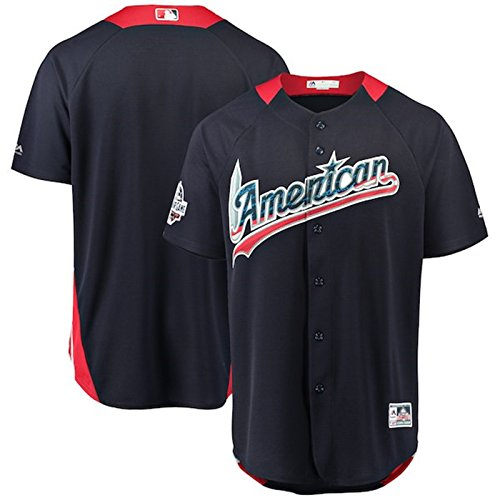 Majestic Athletic Men's American League 2018 MLB All-Star Game Home Run Derby Team Jersey  Navy L