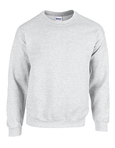Gildan Men's Heavy Blend Crewneck Sweatshirt - Medium - - Ash Sweatshirt Grey