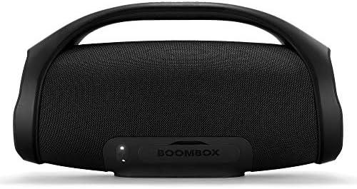 JBL Boombox - Altavoz inalámbrico portátil con Bluetooth, resistente al agua (IPX7), JBL Connect+, hasta 24 h de reproducción, negro