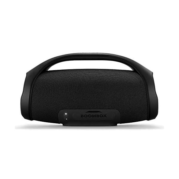 JBL Boombox Enceinte Portable - Son Ultra Puissant - Modes de Son Intérieur & Extérieur - Autonomie 24 hrs - Étanche pour Piscine & Plage, Bluetooth, Noir 5