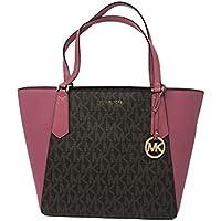 Michael Kors Kimberly Large Bonded Signature Tote Bag