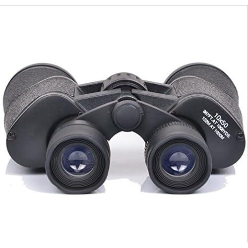 BBSLT-Affichage 10 x 50 HD basse lumière nuit niveau vision jumelles élevée en azote imperméable à l'eau non infrarouge télescope