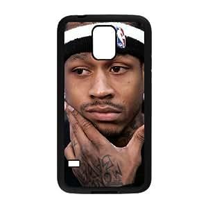 Samsung Galaxy S5 phone case Black Allen Iverson RRTY7505859