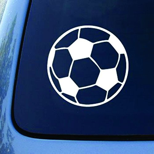 Soccer Ball - Football - Car, Truck, Notebook, Vinyl Decal Sticker (5.5