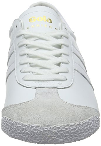 Bianco Ww Leather 50 White Sneaker White Harrier Uomo Gola White fUwXH