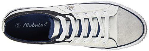 Nebulus 001 Blanc Baskets Homme Weiß Maritime qq0a4Fxw