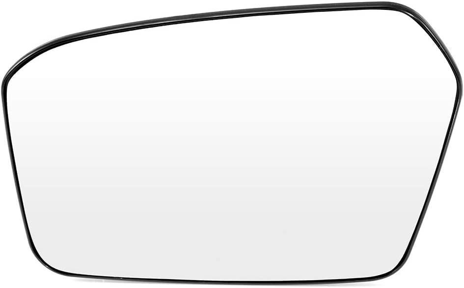 ECCPP Driver Side Exterior Mirror Glasses Left Side Rear View Mirror Glass Door Mirror Glass Replacement fit for 2006-2010 Ford Fusion Mercury Milan 2007-2010 Lincoln MKZ 2006 Lincoln Zephyr
