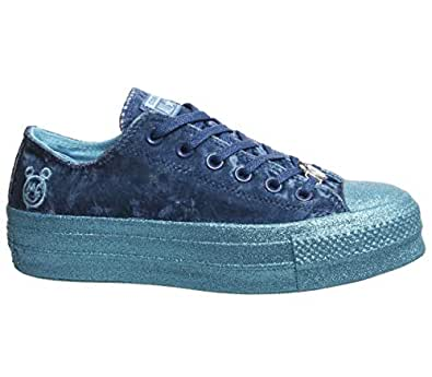 Converse x Miley Cyrus (5, Gnarly Blue X Mc 9640)