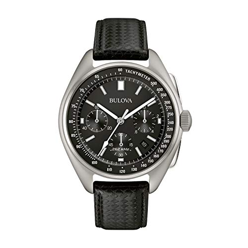 - Bulova Men's Lunar Pilot Chronograph Watch 96B251