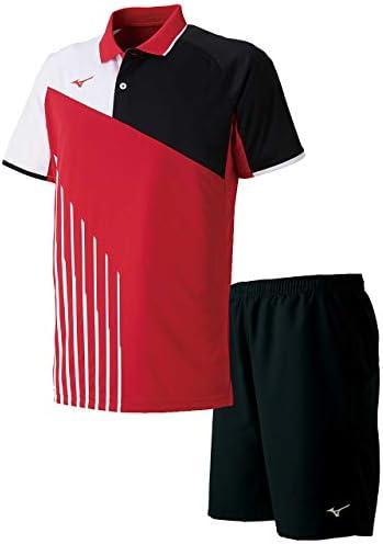ゲームシャツ&ゲームパンツ上下セット(バーチャルピンク/ブラック) 62JA9003-65-62JB7001-09